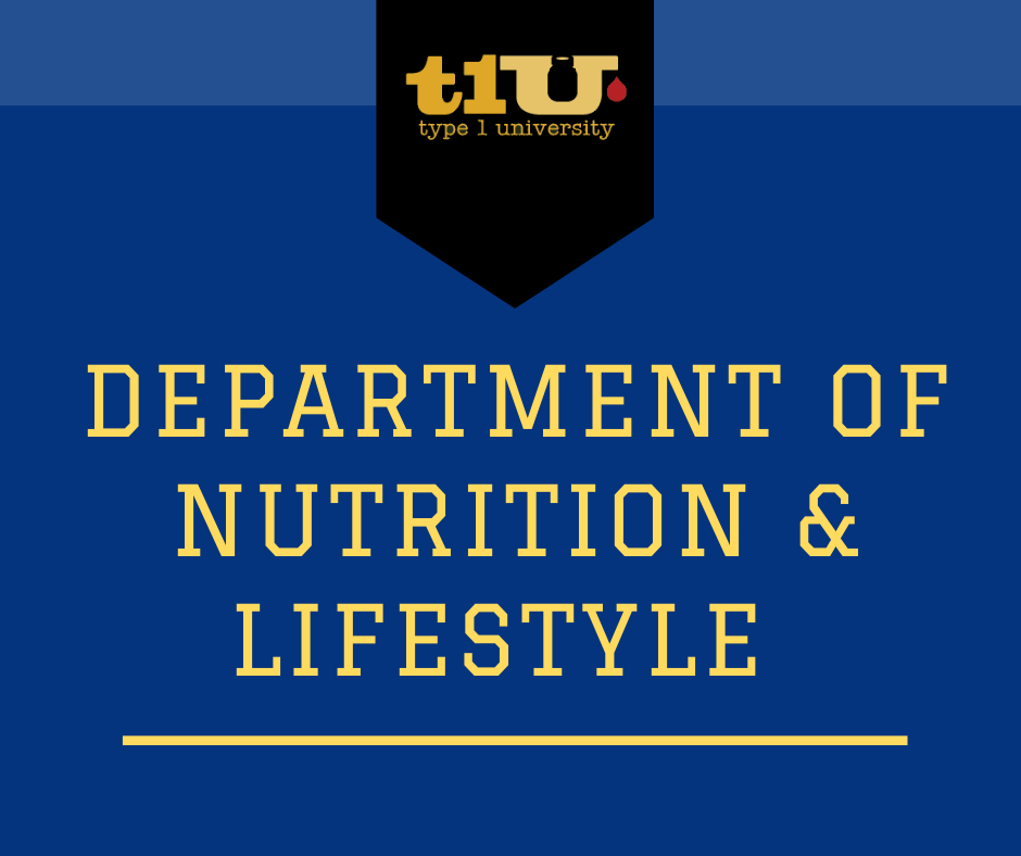 Department of Nutrition & Lifestyle